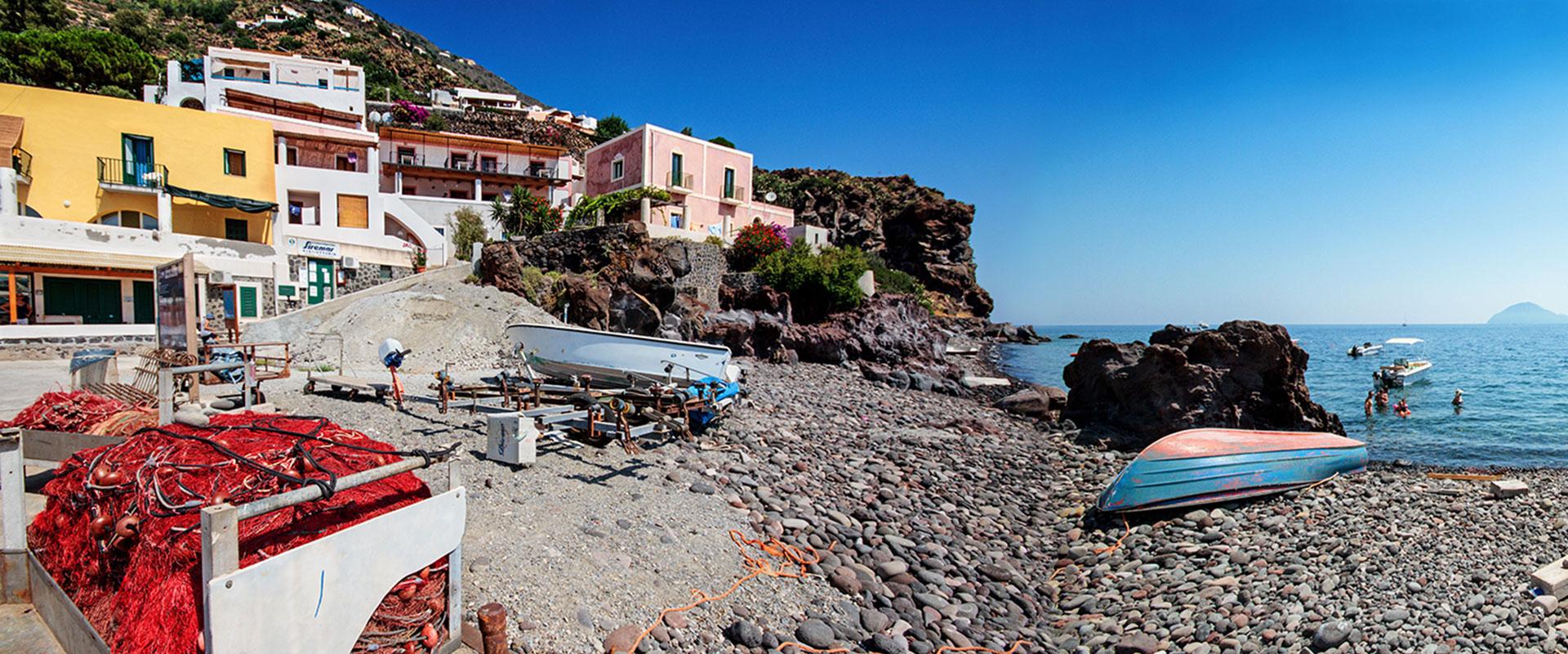 Casa sul mare Alicudi